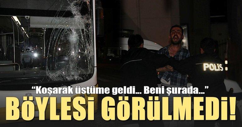 Konya'da alkollü sürücü dehşeti!