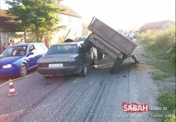 Hurdaya çıkan Mercedes araba yeniden yollara döndü