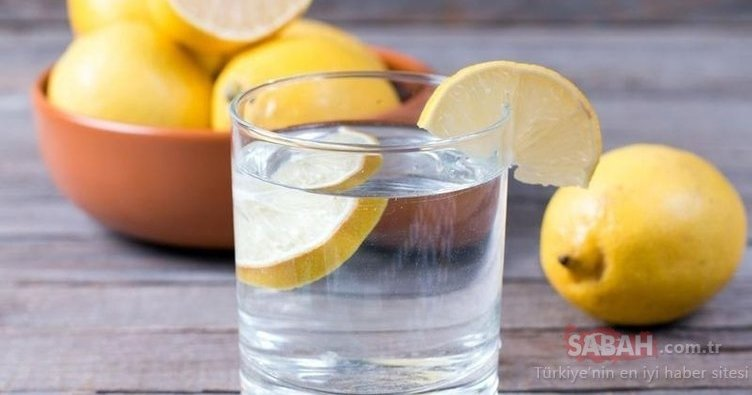 Limonlu suyun faydaları nelerdir? İşte mucizevi limonlu suyun faydaları!