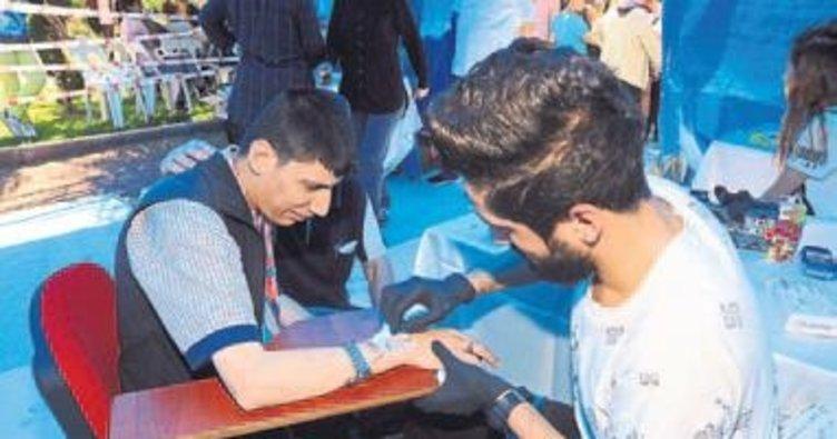Kepez'de 'Sevgi İzi' etkinliği