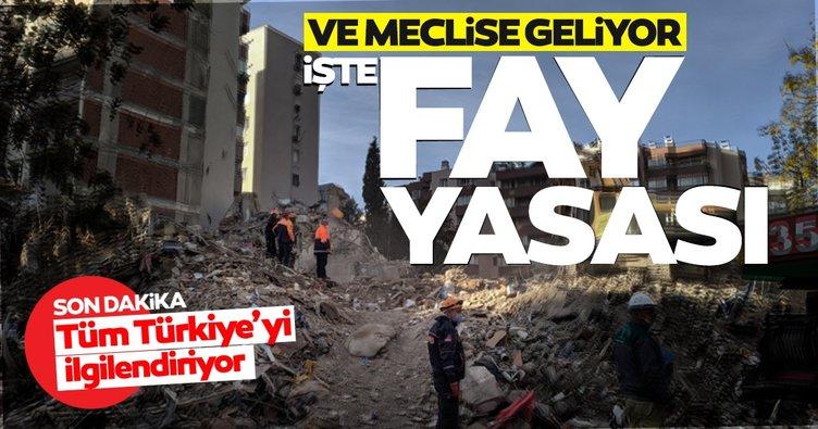 Son dakika haber: Deprem önlemleri için hükümet düğmeye bastı, 'Fay yasası' geliyor! İşte yeni düzenlemenin detayları