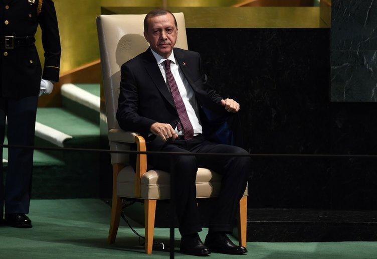 Erdoğan'a BM'de yoğun ilgi