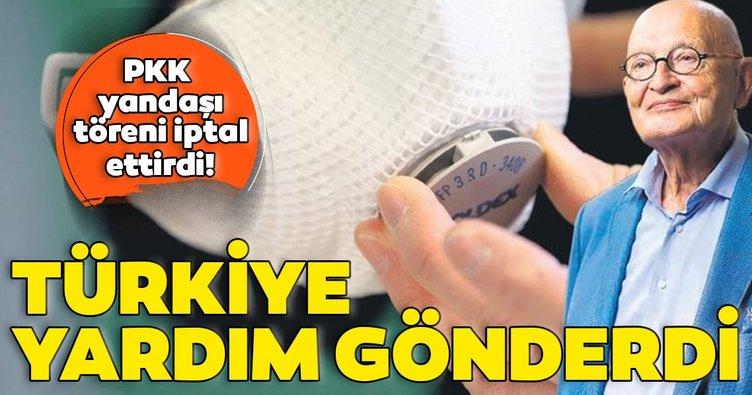 Son dakika: Türkiye, Almanya'ya yardım gönderdi! PKK yandaşı Schmalstieg töreni iptal ettirdi...