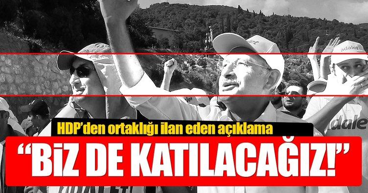HDP açıkladı: CHP'ye katılacağız