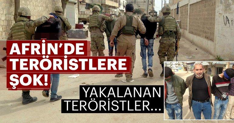 Afrin'de teröristlere şok üstüne şok! Afrin halkı...