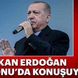 Başkan Erdoğan Kastamonu`da