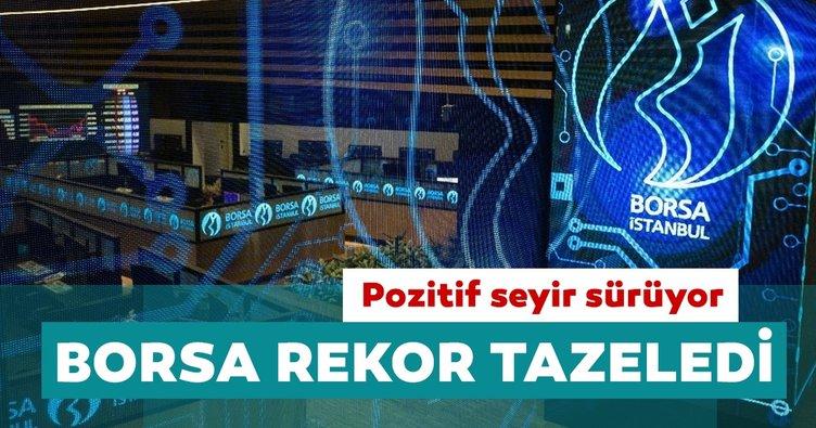 Borsa İstanbul'da pozitif seyri sürüyor: Rekor tazeledi