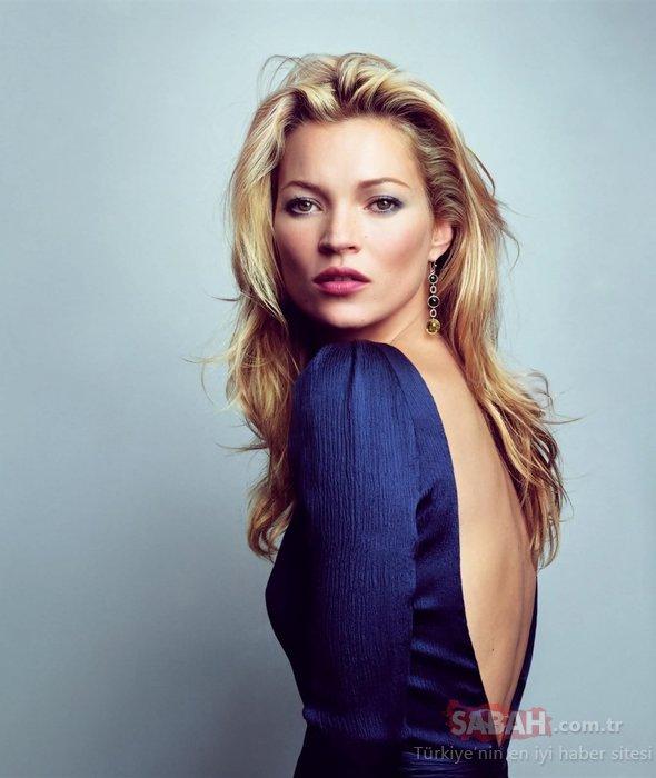 Ünlü top model Kate Moss'un kız kardeşi Lottie Moss ablasının izinde!