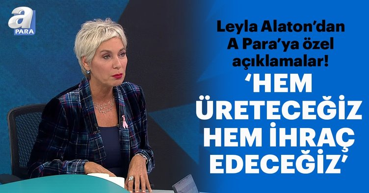 Leyla Alaton: Medikal cihazları üretip ihraç edeceğiz