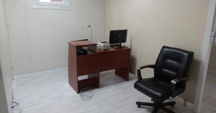 Trabzon'da koronavirüs aşı uygulama odaları kuruldu