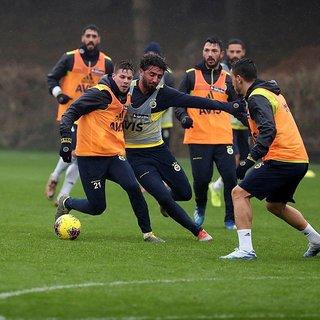 Fenerbahçe Galatasaray derbisi hazırlıklarına devam etti