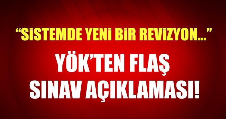 YÖK Başkanı Saraç: Üniversite sınav sisteminde yeni bir revizyon yok