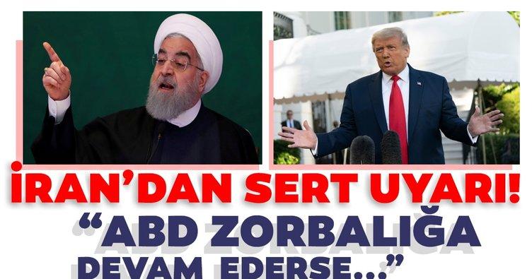 İran hükümeti, ABD'nin yaptırımlarına tepki gösterdi