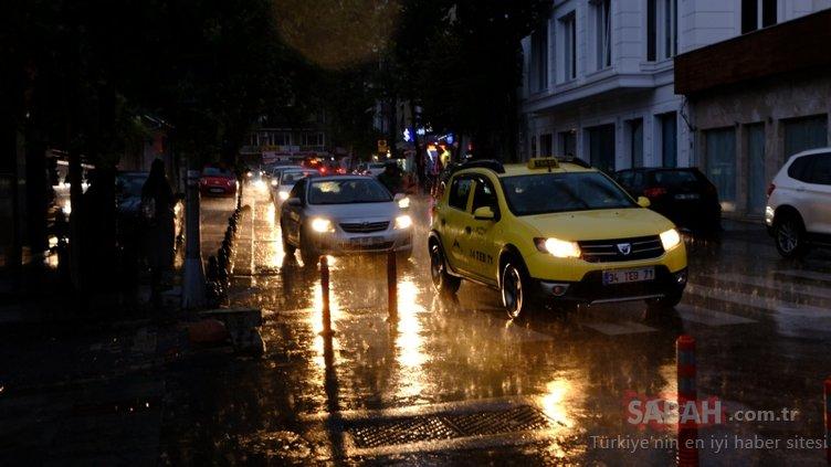 Meteoroloji'den son dakika sağanak yağmur yağışı ve hava durumu uyarısı! İstanbul'da hava nasıl olacak?