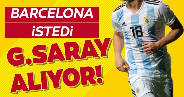 Barcelona istedi Galatasaray alıyor!