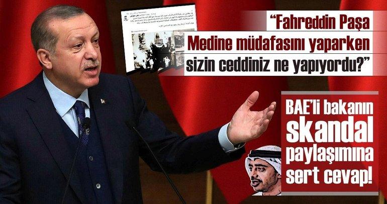 Son dakika: Cumhurbaşkanı Erdoğan'dan Abdullah bin Zayed'e çok sert tepki!