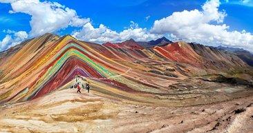En renkli seyahat noktaları