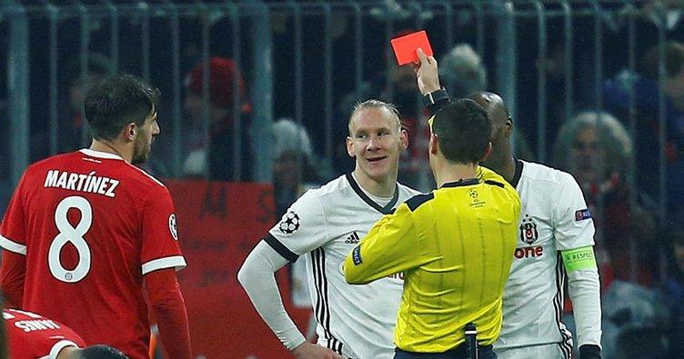Beşiktaş'ta kırmızı kart şoku! Vida...