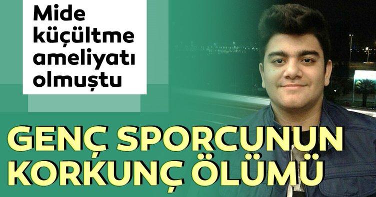 İzmir'de genç sporcu hayatını kaybetti