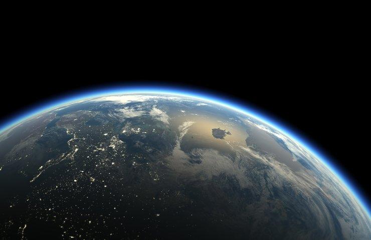 Dünya ve Ay'ın muhteşem görüntüsü
