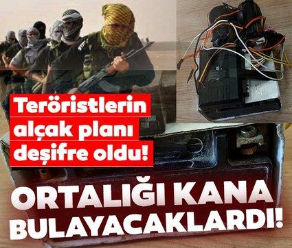 Terör örgütü PYD/YGP'nin Afrin'e gönderdiği patlayıcılar ele geçirildi