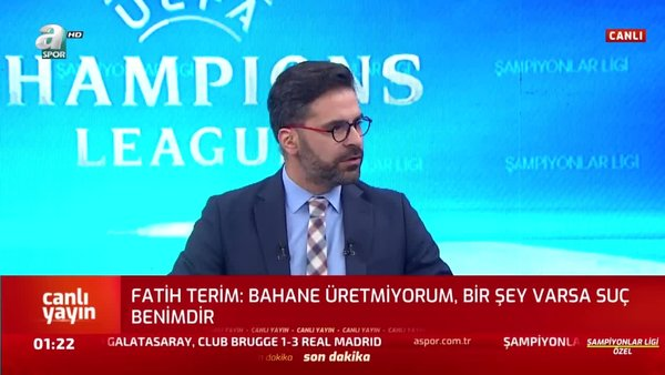 PSG - Galatasaray maçı sonrası Fatih Terim'den basın toplantısı