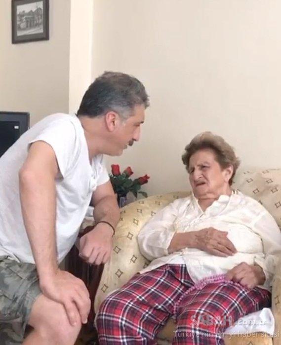 Cem Davran'dan annesiyle duygusal paylaşım! Cem Davran: Beni hatırlamasa da şarkıları hatırlıyor...