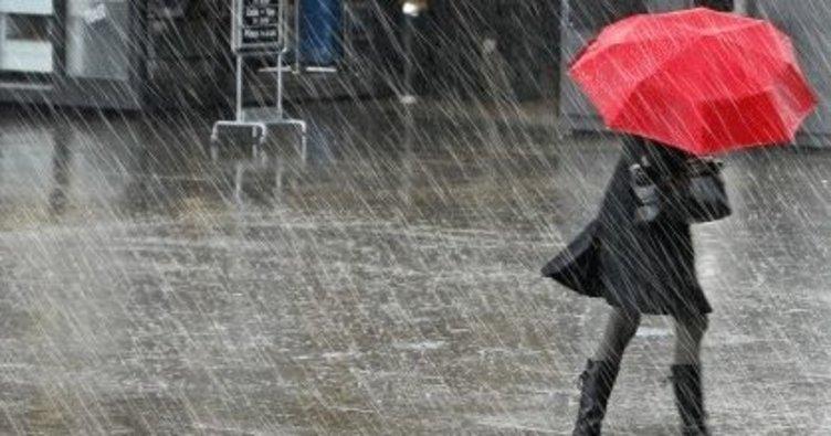 Meteoroloji'den 'yerel kuvvetli yağış' uyarısı