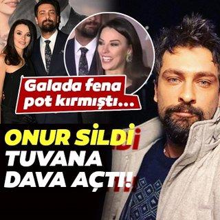 Son dakika haberi: Tuvana Türkay'ın gafı rol arkadaşı Onur Tuna ile arasını açtı! Onur Tuna sildi Tuvana Türkay dava açtı!