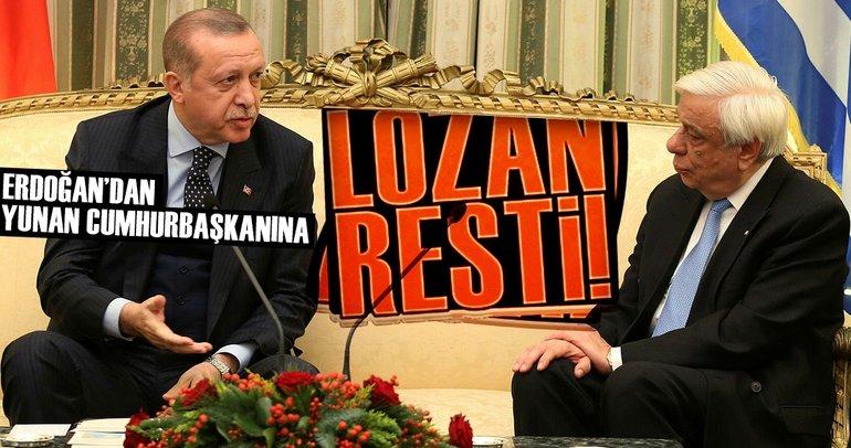 Erdoğan: Lozan'da anlaşılmayan ince konular var