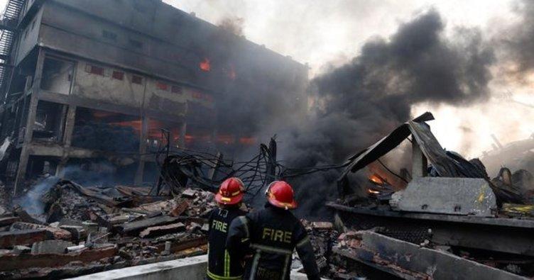 Bangladeş'te fabrikada patlama: 8 ölü, 50 yaralı!