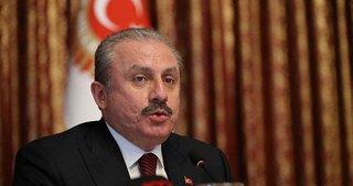 TBMM Başkanı Şentop'tan ABD'nin sözde Orta Doğu barış planına tepki