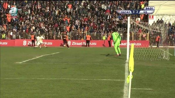 İşte Hatayspor:4 Galatasaray:2  arasındaki maçta herkesin konuştuğu