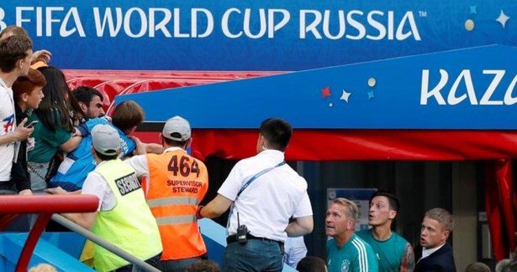 Güney Kore - Almanya maçından sonra, Mesut Özil...