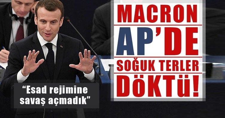 Macron AP Genel Kuruluna hitap etti