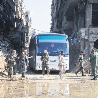 Şam tümüyle Esad rejiminde