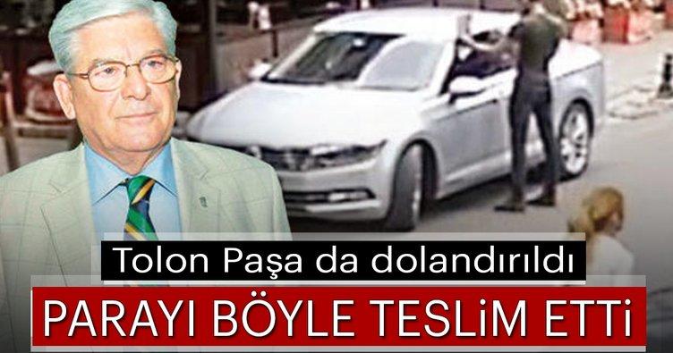 Tolon Paşa da dolandırıldı