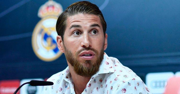Sergio Ramos kararını açıkladı: Real Madrid'den ayrılmıyorum