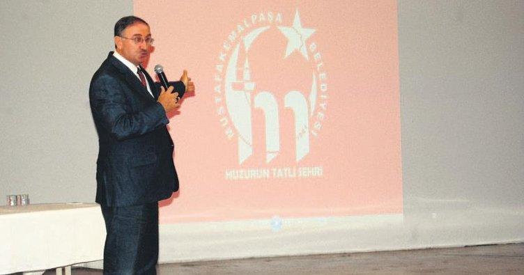 Mustafakemalpaşa'ya bilimsel logo