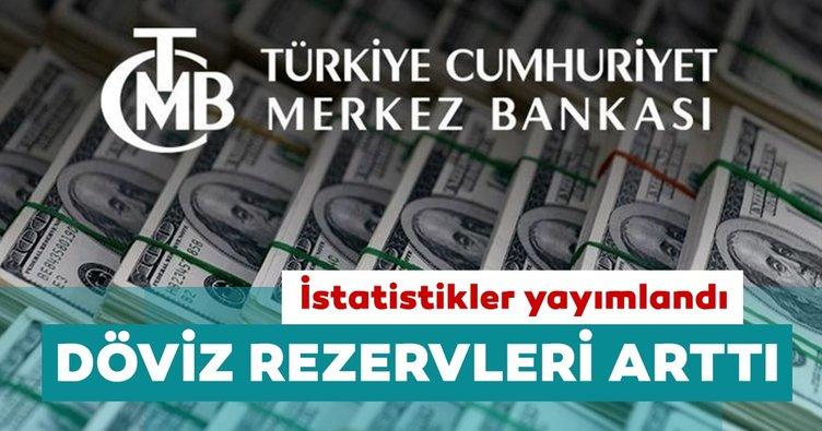 Merkez Bankası'nın brüt döviz rezervleri 3 milyar 337 milyon dolar arttı