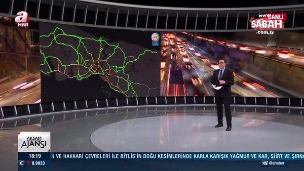 İstanbul trafiğinde son durum ne? A Haber detayları aktardı… | Video
