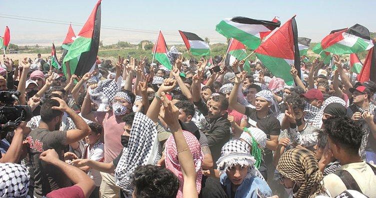 Dünya Filistin için tek yürek oldu! Kapıları...