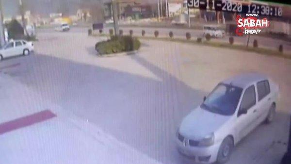 Bursa'da 2 kişinin öldüğü 3 kişinin yaralandığı feci kazanın kamera görüntüleri ortaya çıktı | Video