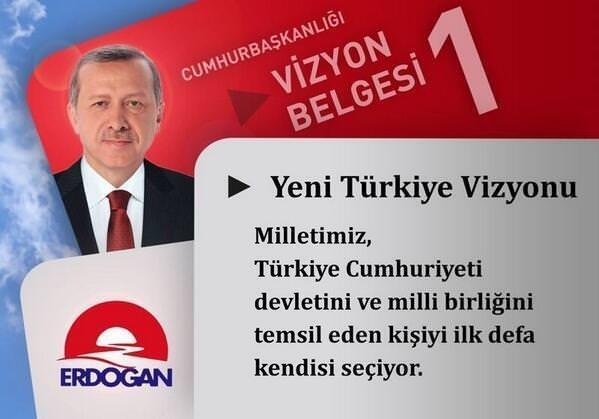 Başbakan Erdoğan'ın Vizyon Belgesi