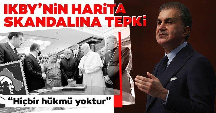 Son dakika: AK Parti Sözcüsü Ömer Çelik'ten IKBY'nin pul ve harita skandalına sert tepki: Hiçbir hükmü yoktur