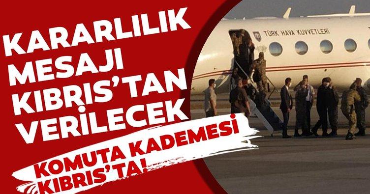 Doğu Akdeniz'de kararlılık mesajı Kıbrıs'tan verilecek