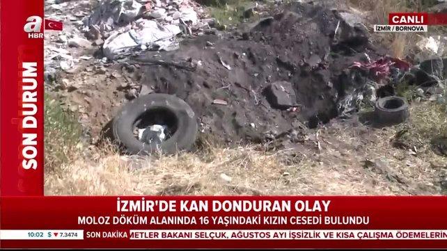 Son dakika: İzmir'de kan donduran olay! 16 yaşındaki kızın cesedi moloz döküm alanında bulundu | Video