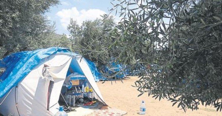 Çadır kamplar ilgi görüyor