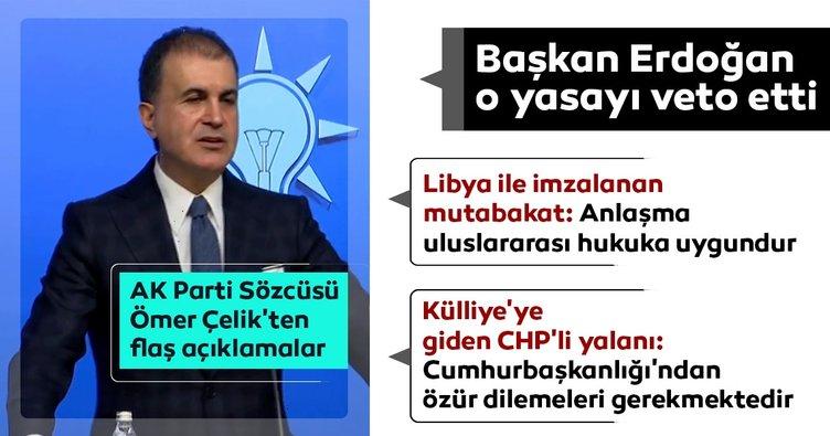 AK Parti MYK toplantısı sonrası önemli açıklamalar