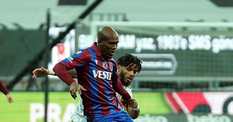 Son dakika: Zorlu derbide Trabzonspor Beşiktaş'ı yendi